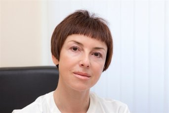Julia L. Podberezina. Breast physician, oncologist. Head of the Mammology Department of the Radiology Center.