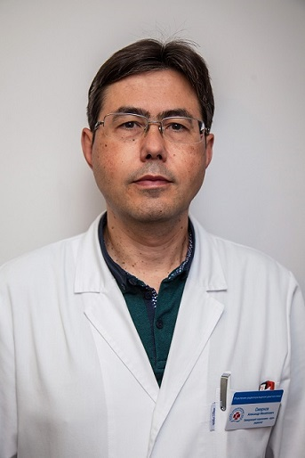 Alexander M. Smirnov.Radiologist. Head of the Department of the Radionuclide Diagnostice of the Radiology Center.